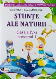 Manual Stiinte ale naturii pentru clasa a IV-a, semestrul I si semestrul al II-lea (Contine ed. digitala)