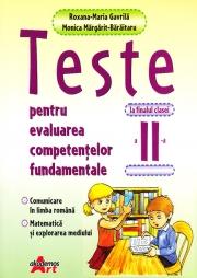 Teste pentru evaluarea competentelor fundamentale la finalul clasei a II-a- Comunicare in limba romana, matematica si explorare mediului