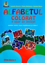 Alfabetul colorat e usor de invatat