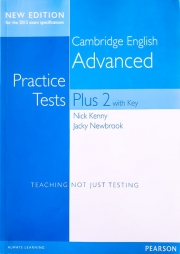 Cambridge Advanced Students' Book with Key - Practice Tests Plus New Edition 2015.