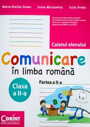 Caietul elevului clasa a-II-a partea a II-a. Comunicare in limba romana (Maria Emilia Goian)
