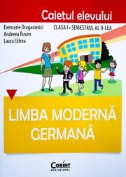 Limba germana - Caietul elevului clasa I, semestrul al II-lea