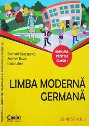 Limba moderna germana manual pentru clasa I, semestrul I si semestrul al II-lea (Contine editia digitala)