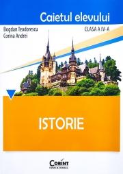 Istorie - caietul elevului pentru clasa a IV-a