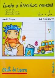 Limba si literatura romana - Caiet de lucru pentru clasa a 5-a