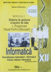 Manual informatica - clasa a XII-a - modulul 2