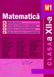 Matematica M1- Culegere de probleme pentru clasa a XII-a