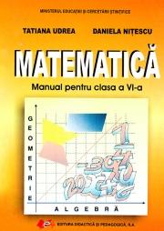 Matematica - manual clasa a VI-a