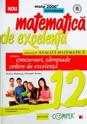 Matematica de excelenta pentru concursuri, olimpiade si centre de excelenta - clasa a XII-a, Volumul II Analiza matematica