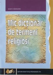 Mic dictionar de termeni religiosi