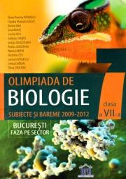 Olimpiada de Biologie - Subiecte si bareme 2009-2012, clasa a VII-a (Elena Daniela Patrascu)