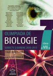 Olimpiada de Biologie Clasa a VII-a. Subiecte si bareme 2010-2013. Faza judeteana si nationala