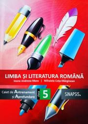Limba si literatura romana - caiet de antrenament si aprofundare pentru clasa a V-a