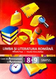Limba si literatura romana - caiet de antrenament si aprofundare pentru clasa a VIII-a