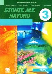 Manual pentru Stiinte ale naturii, Clasa III-a