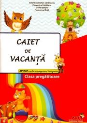 Caiet de vacanta pentru clasa pregatitoare