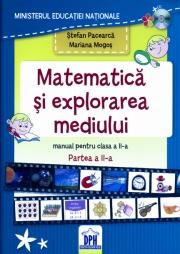 Manual Matematica si explorarea mediului pentru clasa a II-a - semestrul II +CD