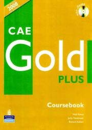 Manual limba engleza pentru clasa a XI-a L1si clasa a XII-a L2 - CAE Gold Plus - Coursebook+CD