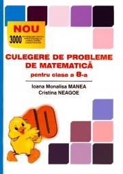 CULEGERE DE PROBLEME DE MATEMATICA pentru clasa a VIII-a