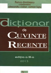 Dictionar de cuvinte recente, Editia a III-a (2013)