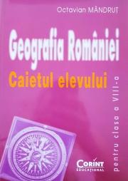 Caietul elevului de geografie - clasa a VIII-a