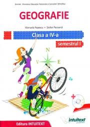 Geografie - Manual pentru clasa a IV-a, semestrul I si semestrul II - Contine editia digitala