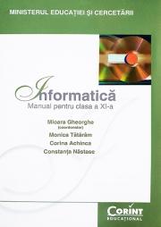Informatica , Manual pentru clasa a XI-a