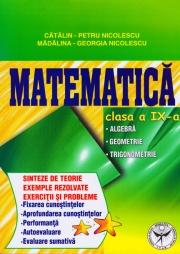 Culegere de exercitii, Matematica, Clasa a IX-a, Sinteze si teorie