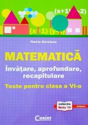 Invatare, aprofundare si recapitulare - matematica, clasa a VI-a