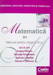Manual matematica (M1) - clasa a XI-a, (Ion D. Ion)