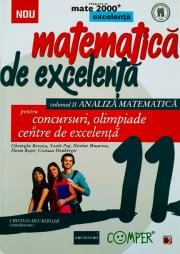 Matematica de excelenta pentru concursuri, olimpiade si centre de excelenta - clasa a XI-a Volumul II