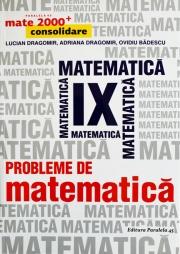 Probleme de matematica pentru clasa a IX-a Consolidare