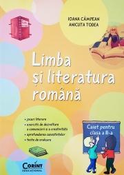 Limba si literatura romana. Caiet elev clasa a II-a