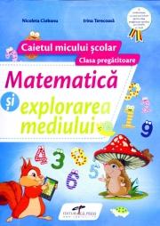 Matematica si explorarea mediului, pentru clasa pregatitoare