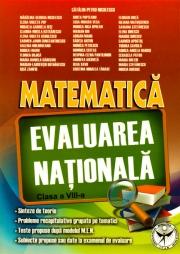 Evaluarea Nationala, Matematica clasa a VIII-a
