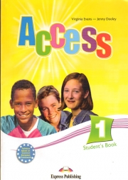 Access 1 Student's Book. Curs de limba engleza pentru clasa a V-a