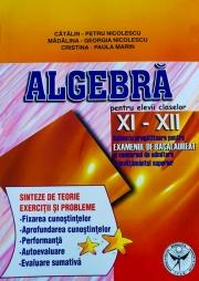 Algebra, clasele XI-XII.