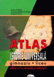 Atlas de istorie universala - gimnaziu - liceu