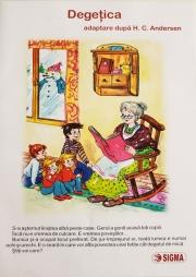 Degetica - adaptare dupa H. C. Andersen