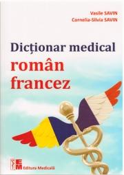 Dicționar medical român-francez.