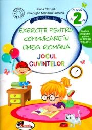 Culegere de exercitii pentru comunicare in limba romana. Jocul Cuvintelor - clasa a II-a (Liliana Catruna)