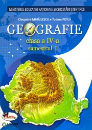 Geografie. Manual pentru clasa a IV-a (sem I+sem II, contine editie digitala)