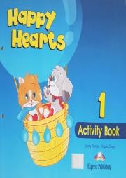 Happy Hearts 1, Activity Book, (Curs de limba engleza pentru prescolari)