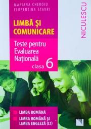 Limba si Comunicare. Teste pentru Evaluarea Nationala clasa a VI-a