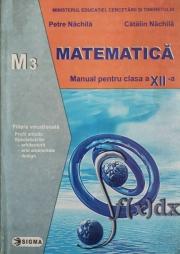 Matematica, Manual pentru clasa a XII-a, M3(Petre Nachila)