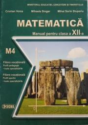 Matematica. Manual pentru clasa a XII-a, M4
