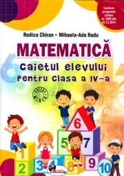 Matematica - Caietul elevului pentru clasa a IV-a