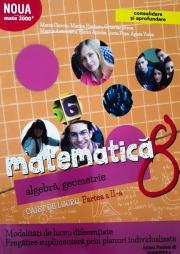 Mate 2000+ Caiet de lucru pentru clasa a VIII-a partea a II-a CONSOLIDARE ( Aritmetica, algebra, geometrie)
