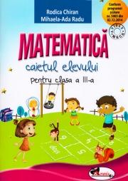 Matematica - Caietul elevului pentru clasa a III-a