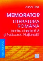 Memorator, Literatura Romana pentru clasele V-VIII si Evaluarea Nationala